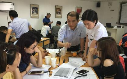 6月24-25日,张珂老师授课清华大学工商管理实战研修班《战略营销沙盘模拟》